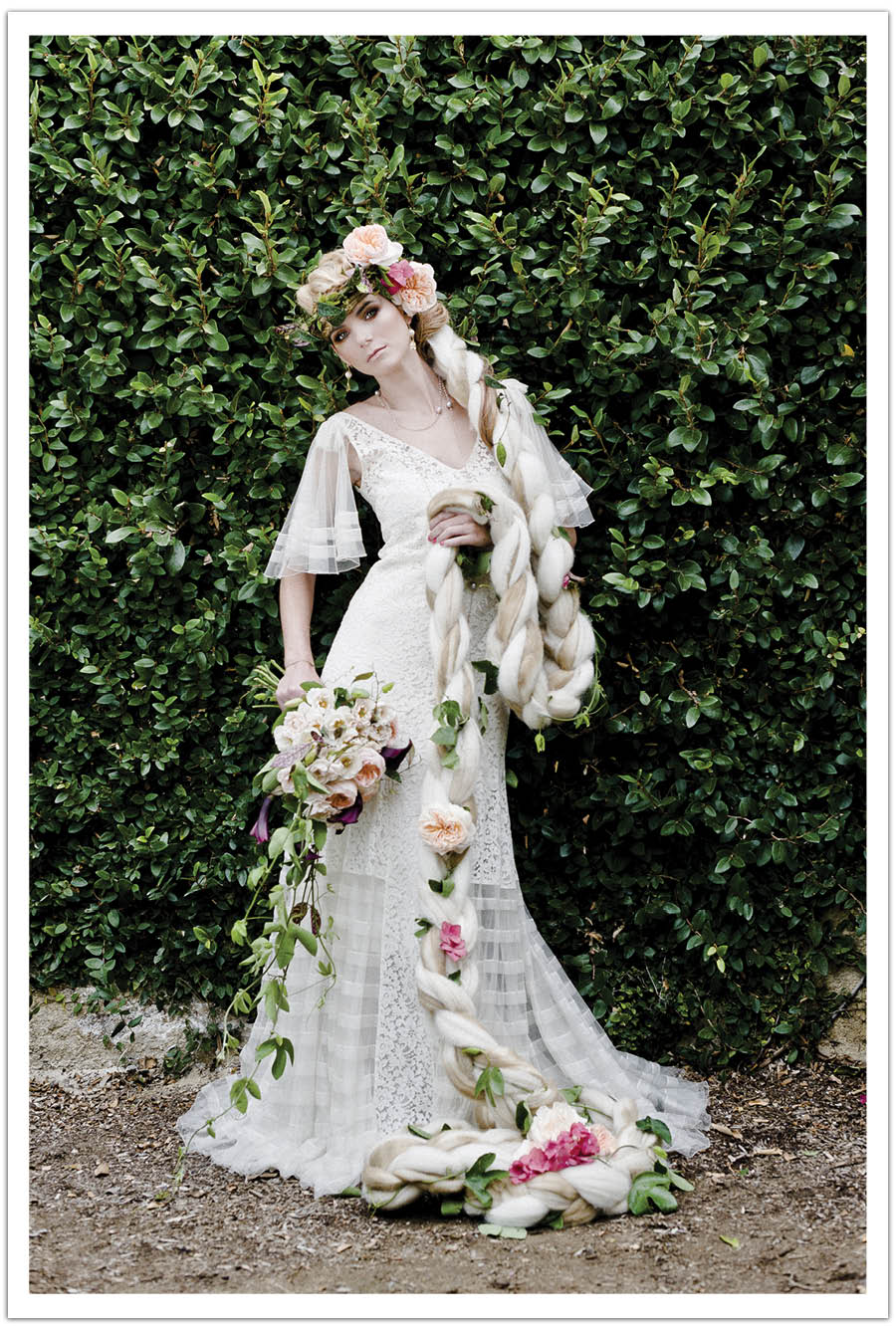 Alchemy Fine Events Fairy Tale Wedding Dress Utterly Engaged Shoot ...