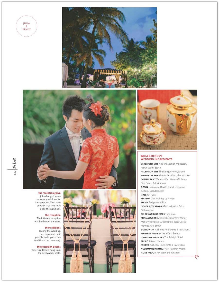 Chinese Wedding Raleigh Miami | Alchemy Fine Events **3